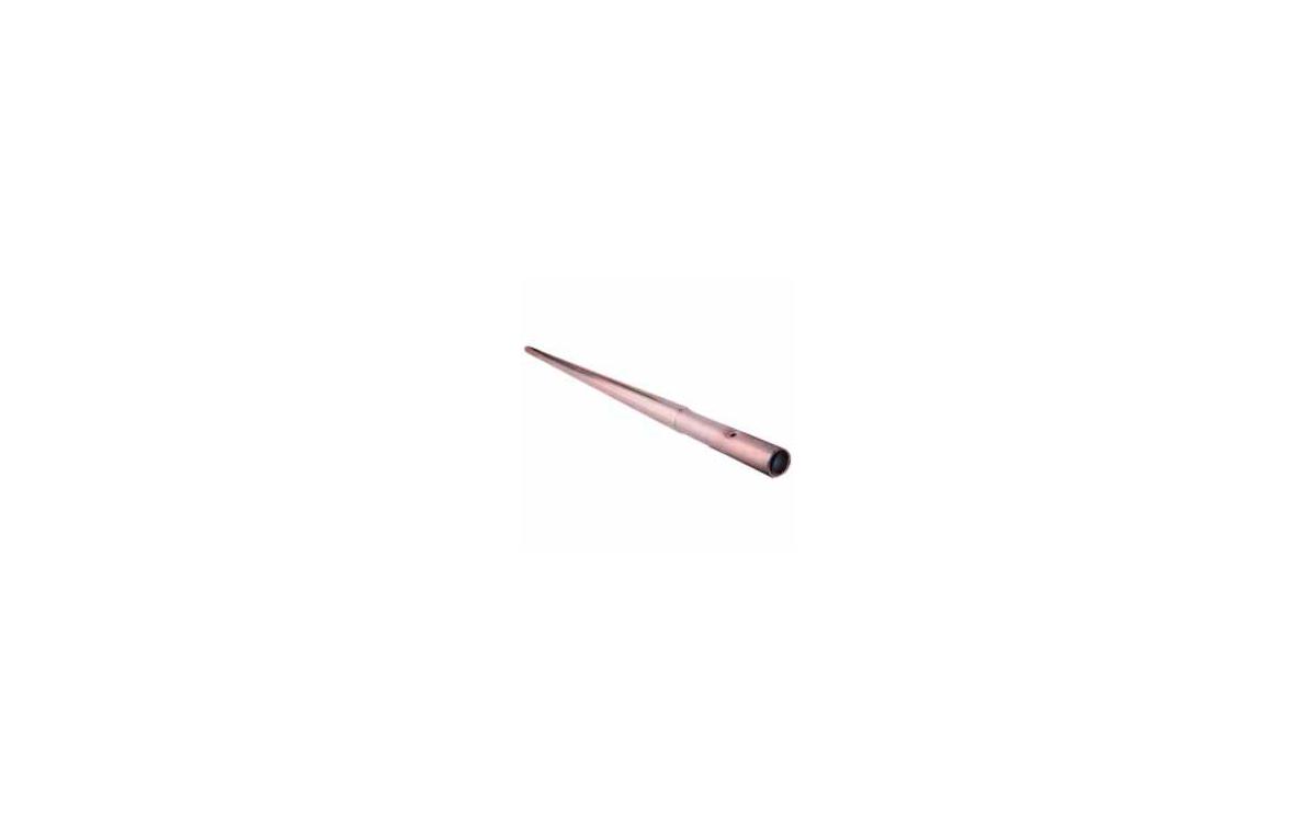 MIRMIDON HARD-351500 Mástil fijo galvanizado 1500 x 35 x 1.5 mm