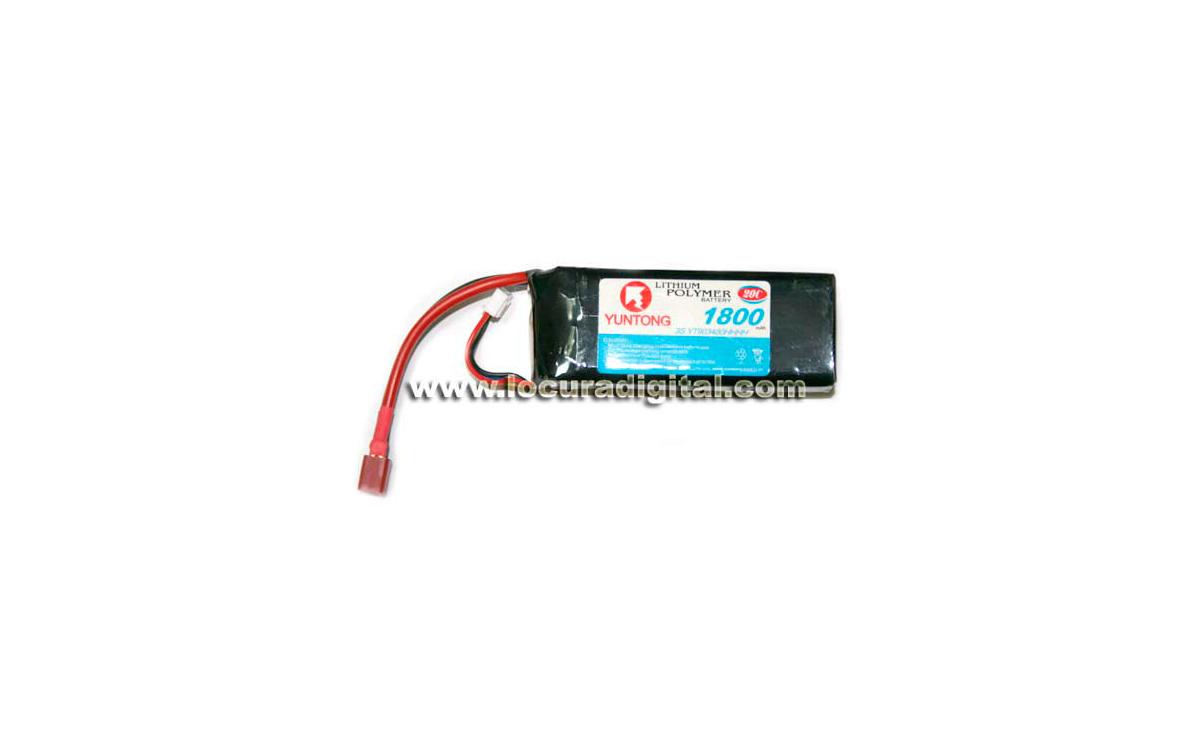 FULLWAT 3S YT903480HHHH Batería Radiocontrol Li-Po 11,1V 1800mAh