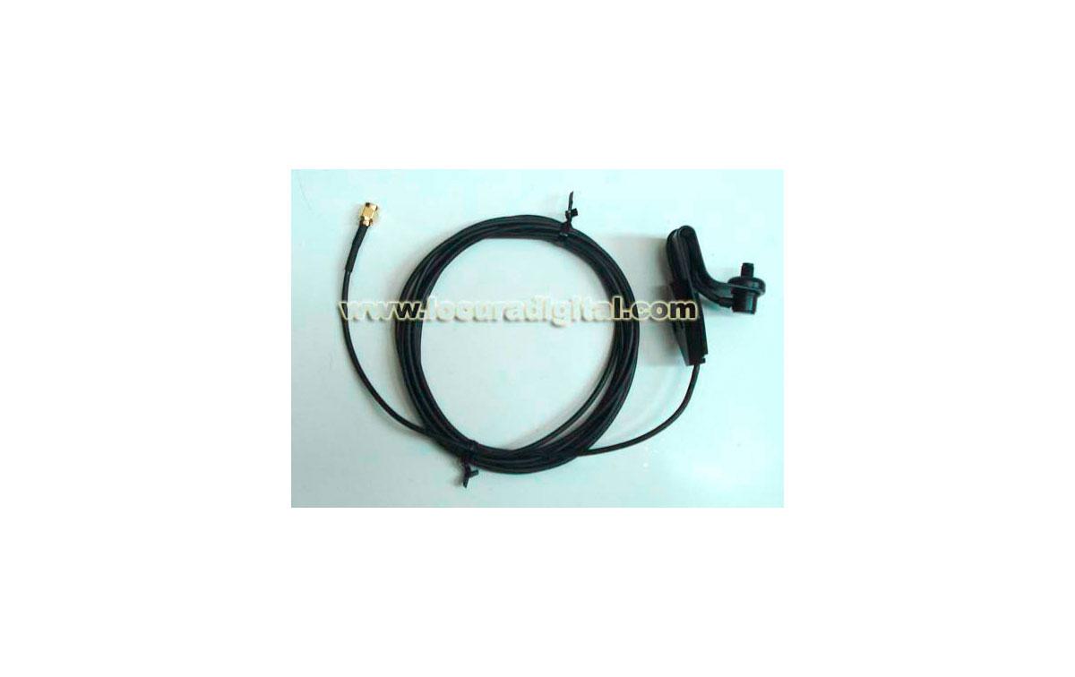 MB-WCMS Soporte para cristal para antenas de walkie con conector SMA