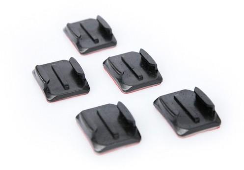 AACRV GoPro HERO pack de 5 ancaljes adhesivos curbados