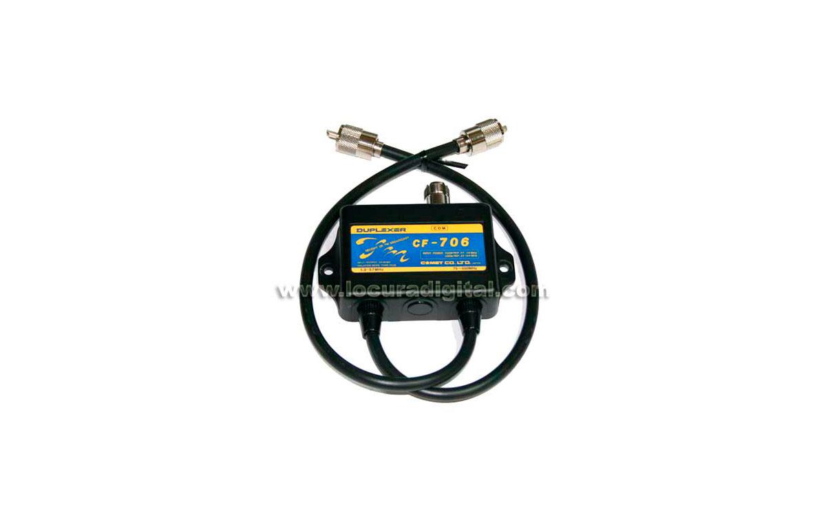 CF-706 COMET ANTENNA - Duplexor de HF 1.3-57 Mhz