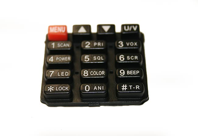LUTHOR RECTL55-TECLADO SPARE PART. RUBBER REPLACEMENT KEYBOARD FOR LUTHOR TL-55 HANDHELD