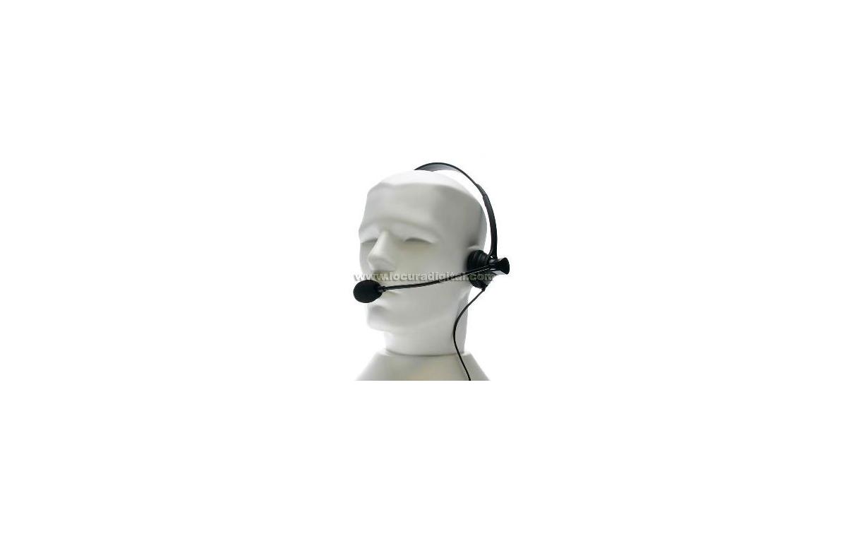 Nauze HEL770K Nauze coque de type Micro-Pr?dent (bandeau) PTT / VOX