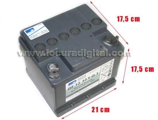 HEYCAR EXIDE TECHNOLOGIES HGC5-12 38 G6