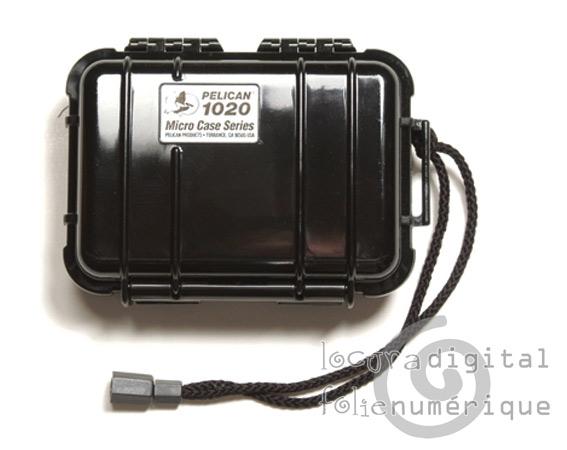 1020-025-110 Micro-Maleta de protección Negra - Opaca
