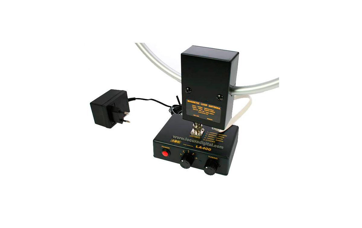 LA400 AOR Antena loop interior 10 kHz - 500 Mhz