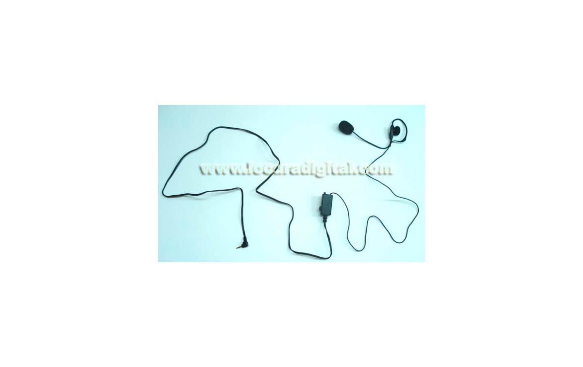 AE37 Micro-auricular con pertiga VOX / PTT
