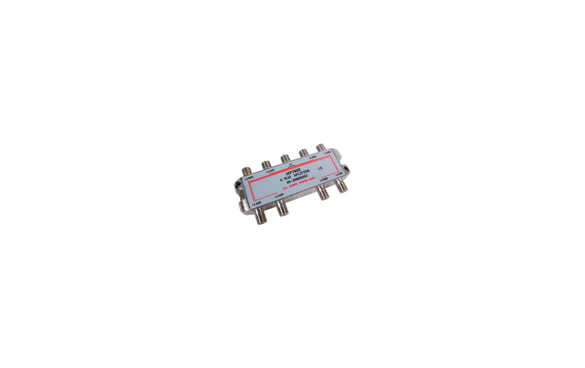 MP7622 Distribuidor standard 8 vias 4-2400MHz paso DC
