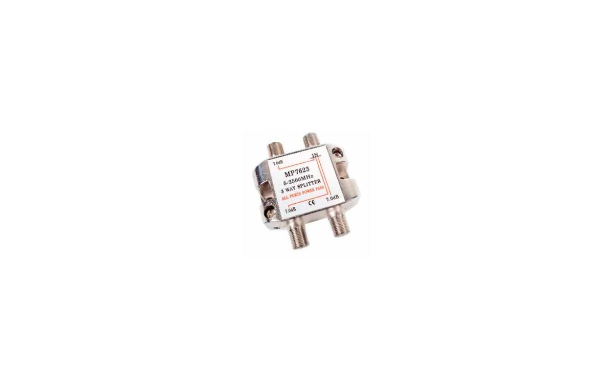 MP7623 Distribuidor standard 3 vias 4-2400MHz paso DC