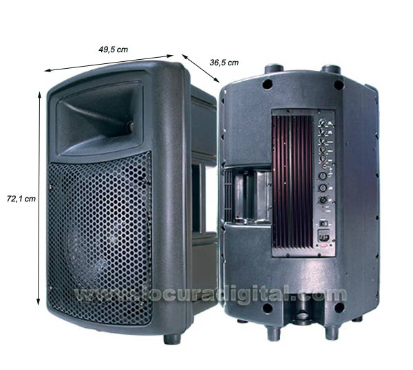 Barrister BAMP-15. Speaker with Integrated Amplifier 300 W.