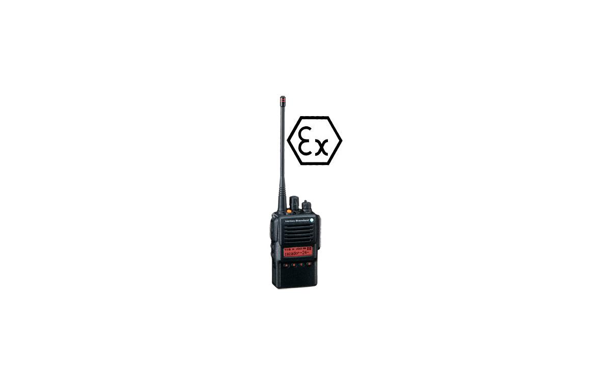 YAESU VX-824 Walkie talkie ATEX VHF  134-174 MHz