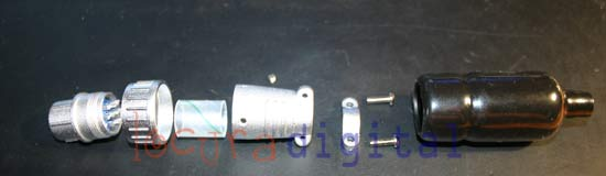 YAESU 25M-WP Connector for YAESU rotator