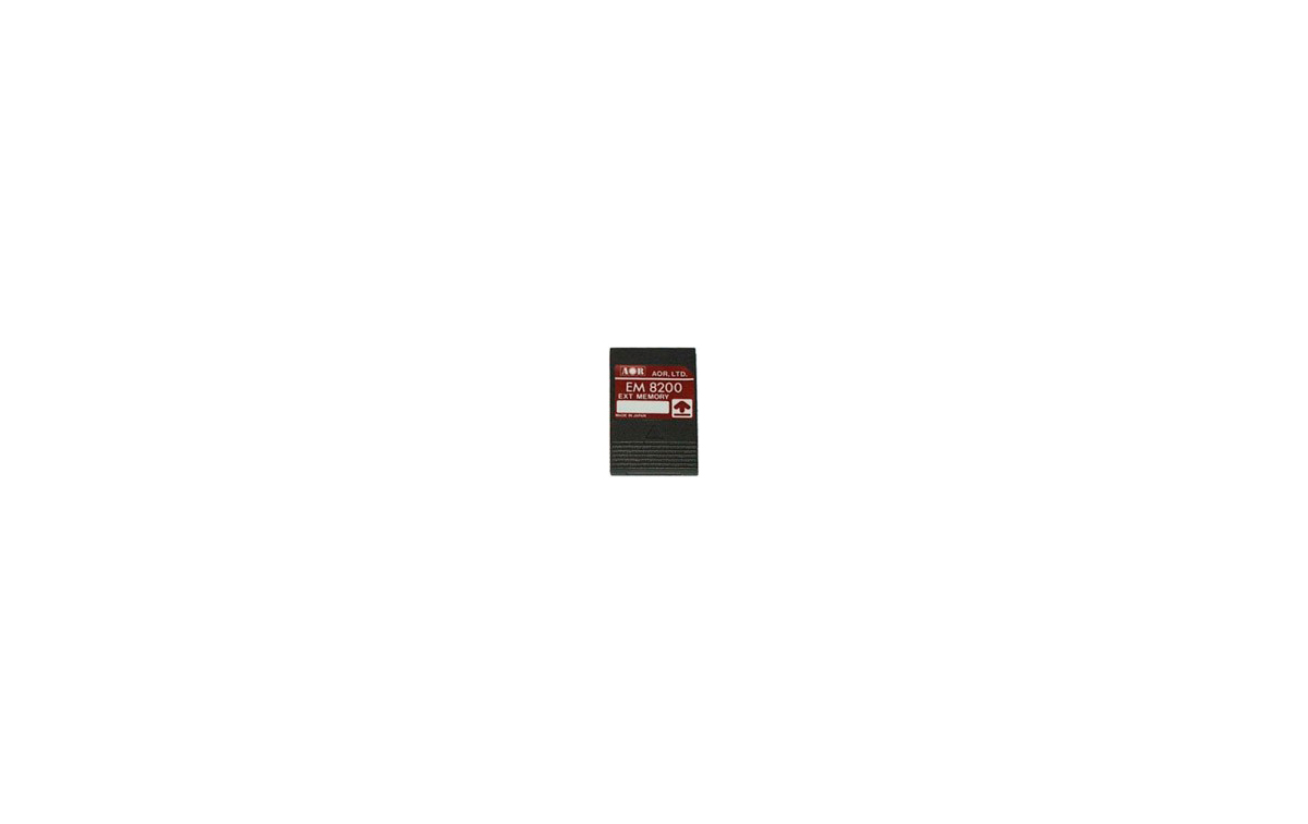 EM-8200 Tarjeta de ampliacíón de memorias para AR-8200  y AR-8600