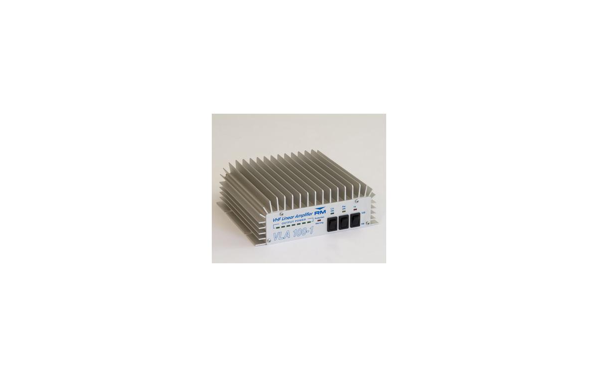 VLA200-1. RM APLIFICADOR DE VHF  200 WATIOS 12 V. FRECUENCIAS 150-160 MHZ