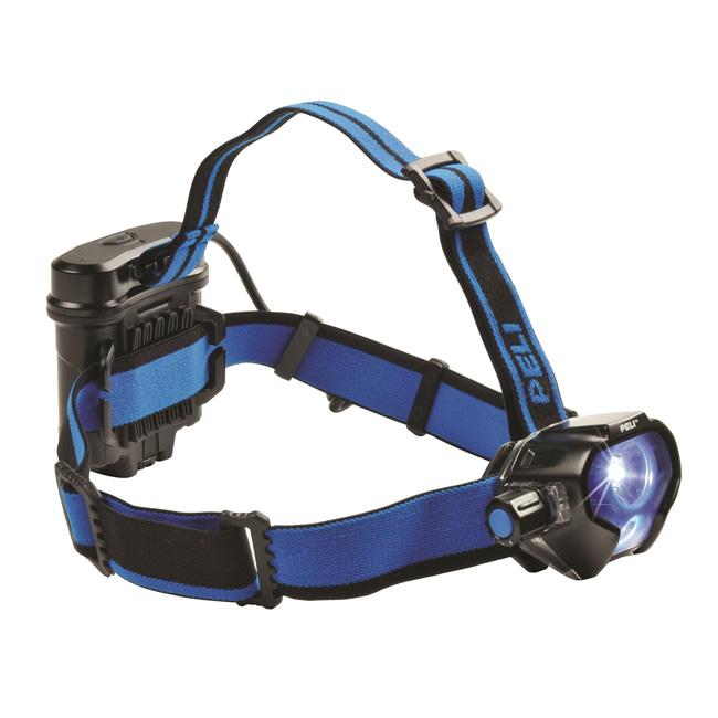 peli 2780 led linterna frontal led headlight lumens 430 waterproof 1 metro.