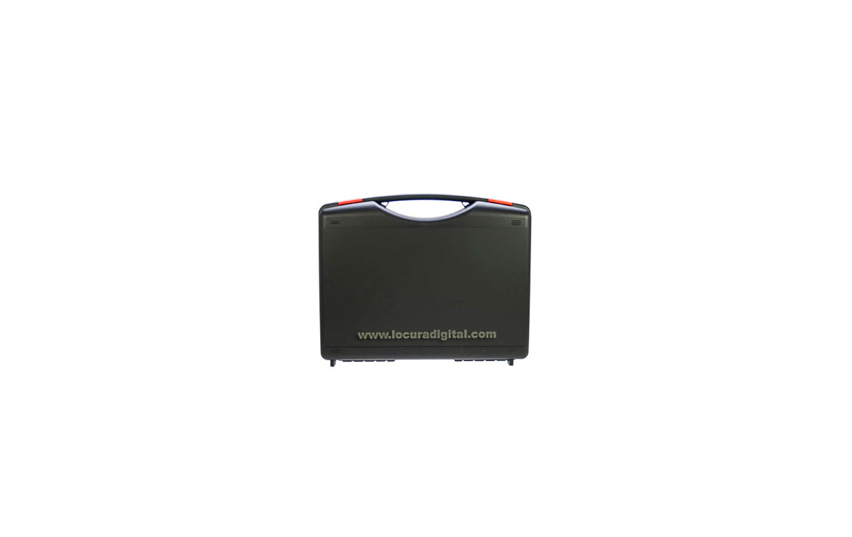 TLKRCASE2 Maleta para 2 unidades de walkies MOTOROLA serie TLKR-50,60,80