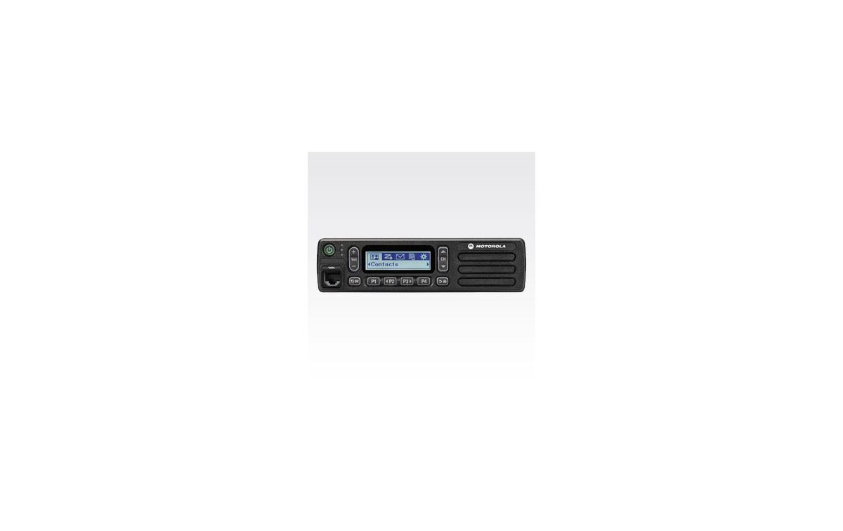 DM1600VHFA MOTOROLA Emisora Analogica actualizable a digital VHF 136-174 Mhz.160 Canales.