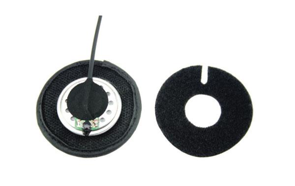 NAUZER KIM66Y4. Kit para moto de Microfono tipo pertiga y doble auricular para casco