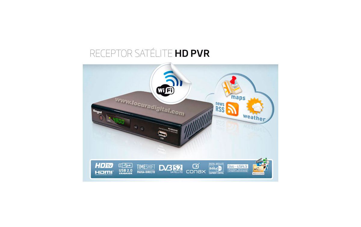 RS-4800HD PVR Engel Axil launches new satellite receiver