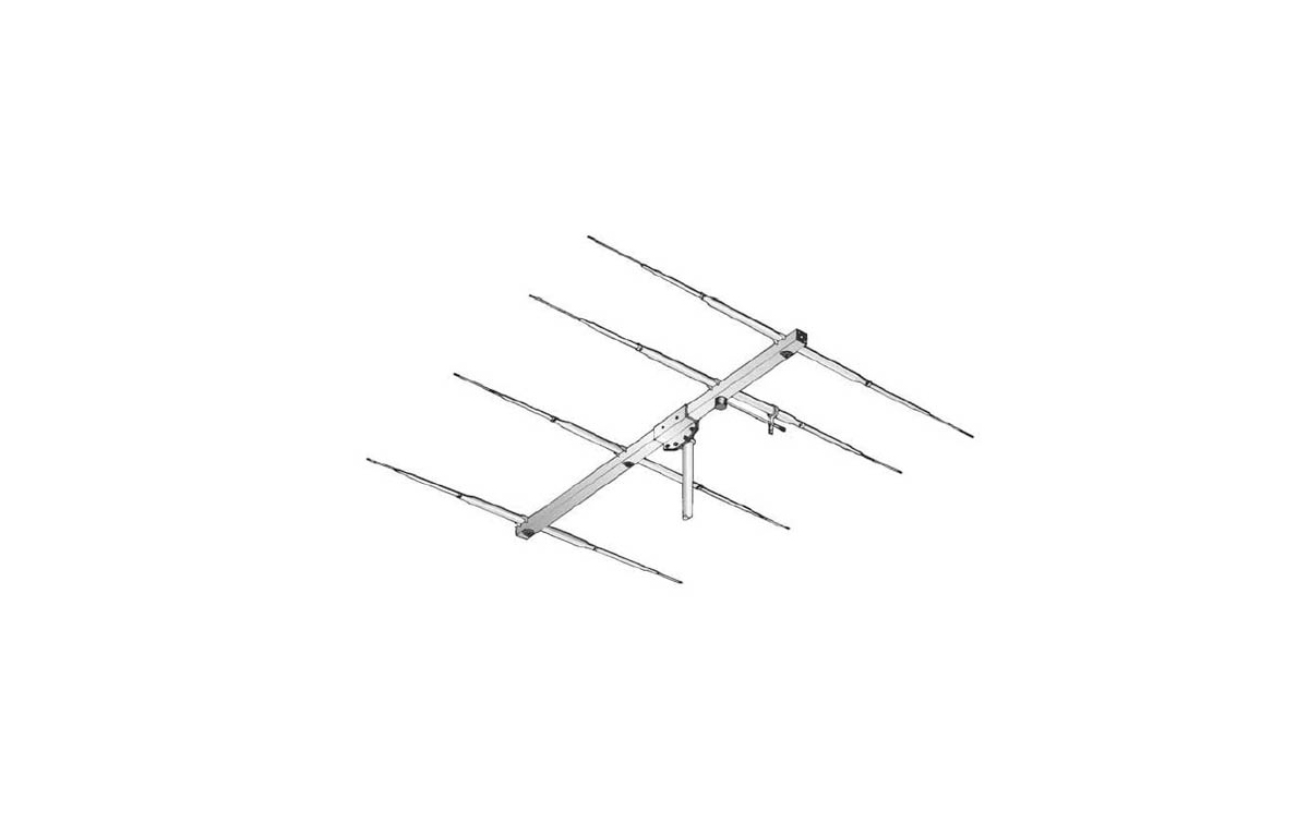 SIGMA4E27 SIGMA Antena direcctiva tipo YAGI 4 elementos 27 Mhz. CB 27 Mhz.
