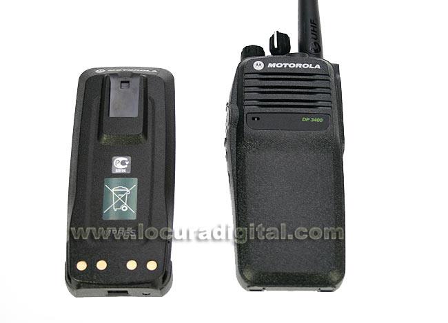 PMNN4066 Batería original Motorola IMPRES Li-Iion 7.2V 1500 mAh