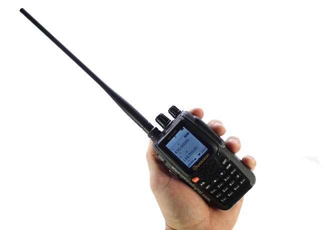 kg uv8d wouxun walkie doble banda vhf/uhf. nuevo version 2014 2015