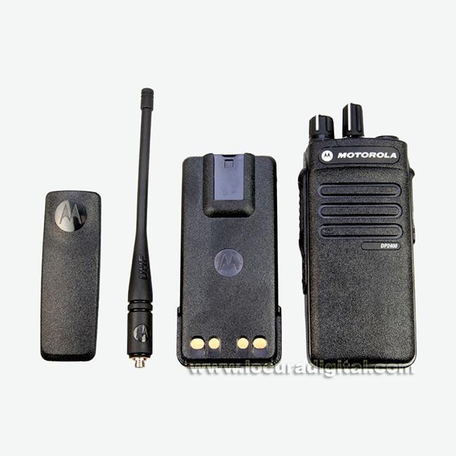 MOTOROLA DP2400VHF 136 174 Mhz Walkie talkie Profesional Digital DMR.