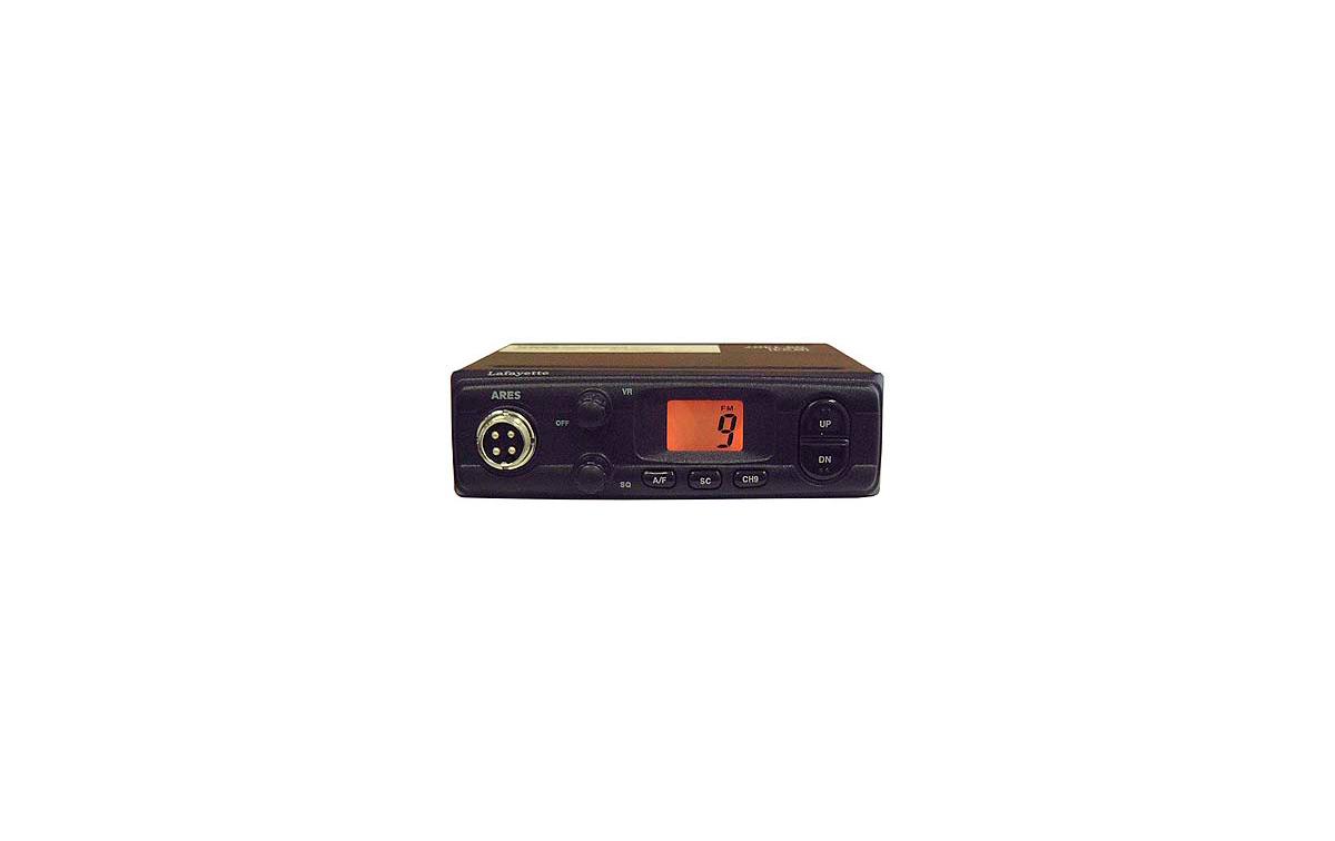 ARESBLACK. Emisora CB 27 Mhz marca LAFAYETTE modelo ARES BLACK. AM/FM 4 Watios. Color NEGRO.