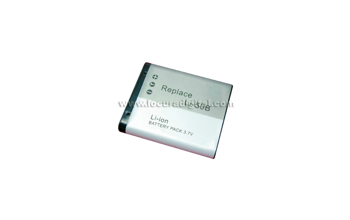 Batería DTL-Li50B Li-Ion, compatible Foto olympus, 3.7V 925mAh