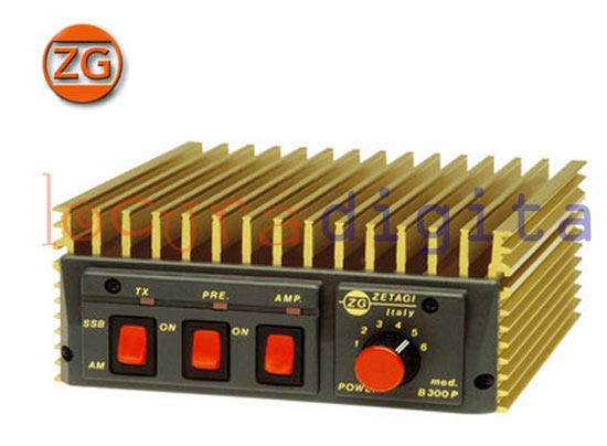 ZETAGI B550P HF linear amplifier
