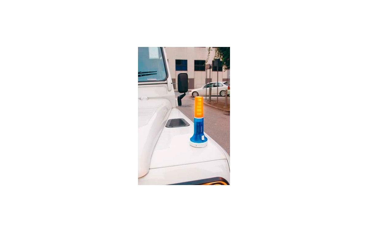 TLSIGNAL LAFAYETTE linterna multifunción a led con base magnética