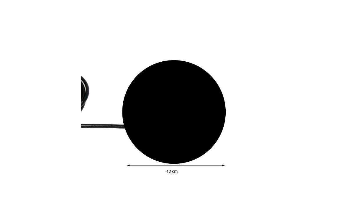 bm121s mirmidon báse magnética 12 cm. tipo dv palomilla 4,5 mts. rg-58 pl259 macho