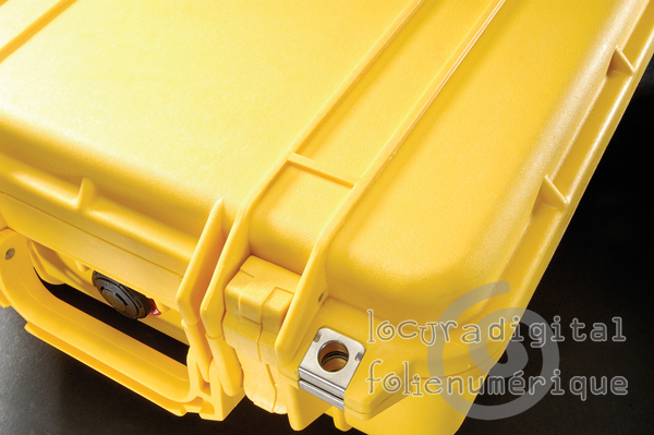 Yellow Protective Case 1150-000-240, with foam