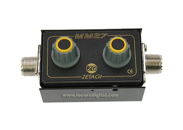 MM27 ZETAGI Adaptador de antena de 26-28 Mhz.