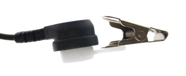 NAUZER PIN 39-M2 Micro-Auricular tubular con PTT especial para ambientes ruidosos,