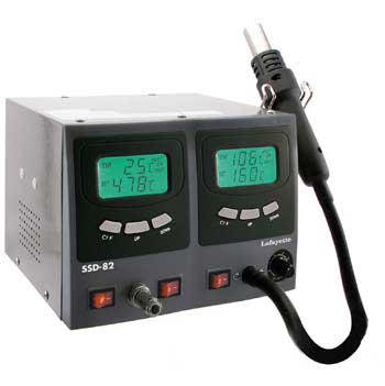 LAFAYETTE SSD82 standard and SMD soldering station