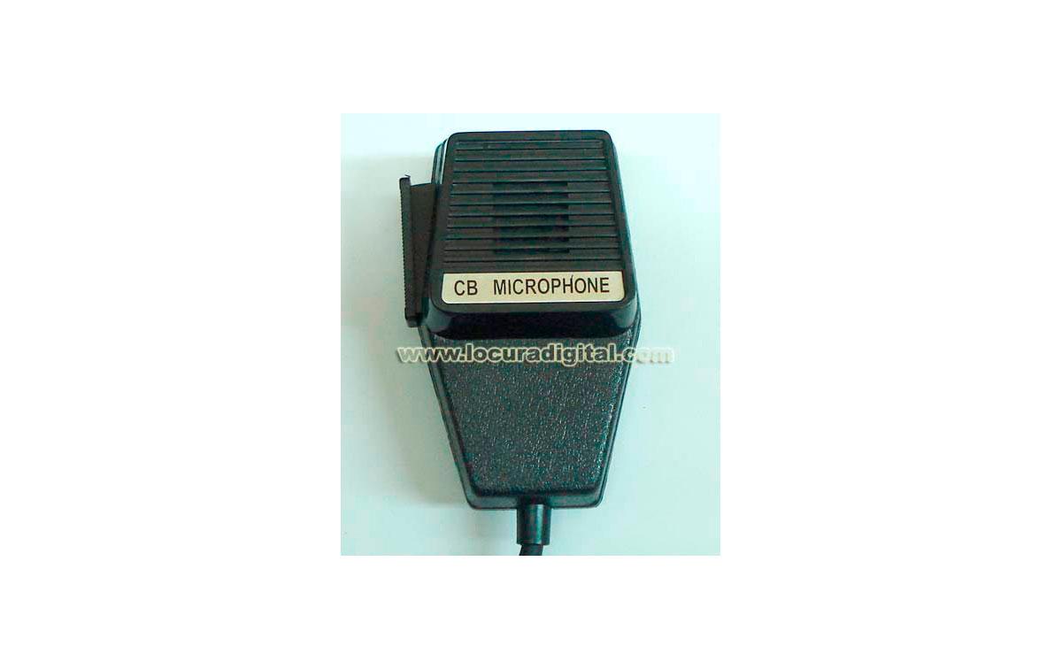DMC 520-4 Micrófono para emisora de 4 PINS