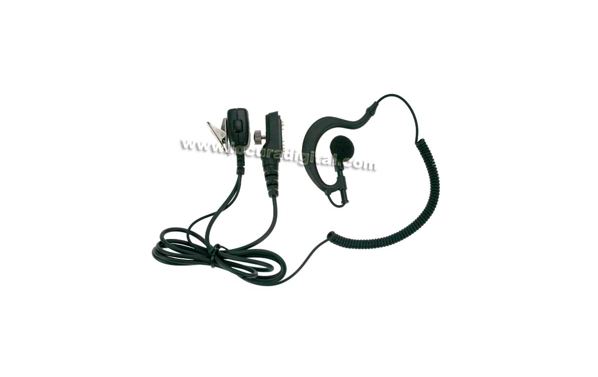 pin29tc7800 nauzer micro-auricular para hyt hytera tc-7800