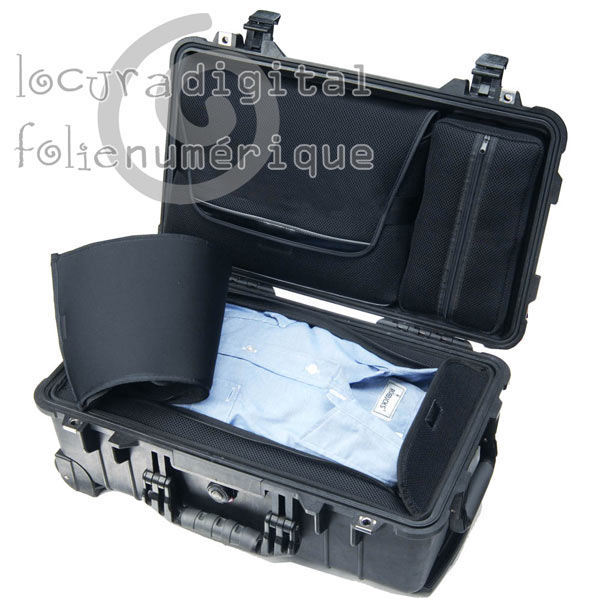 Case Black 1510-006-110 affaire LOC portable Overnigtht