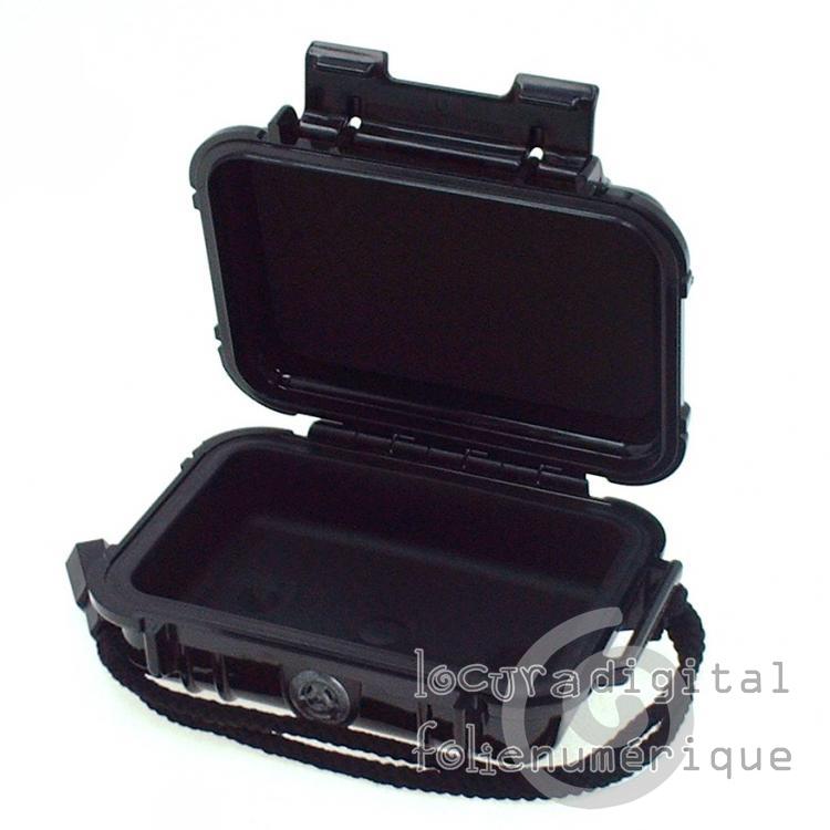 1010-025-110 Micro-Maleta de protección en Negro
