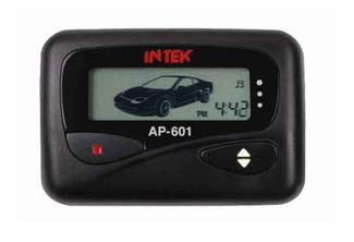 INTEK AP-601 DIGITAL CODED UHF FM REMOTE ALARM WITH LCD POCKET PAGER