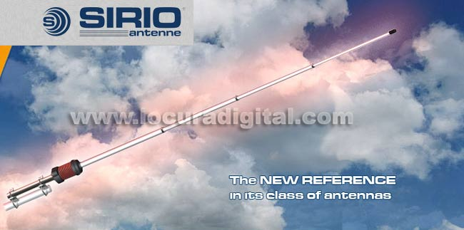 Ganho Master SIRIO fibra GAINMASTER antena 25,5-30 Mhz.736 cms.