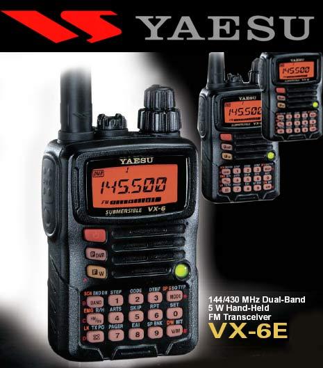 yaesu VX-6e handheld