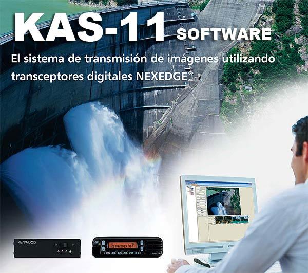 KENWOOD KVT-11 NEXEDGE image transmission system.