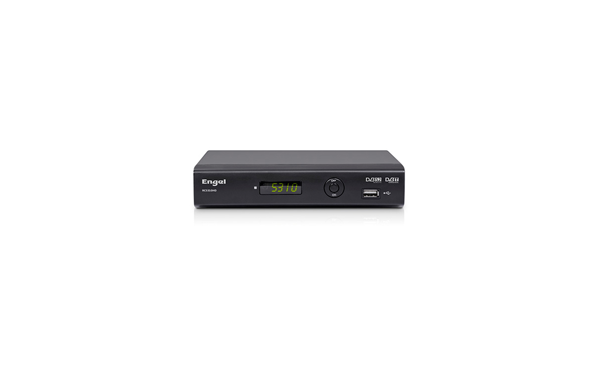 RC-5310HD ENGEL Receptor Combo Satélite HD TDT HD. Con USB
