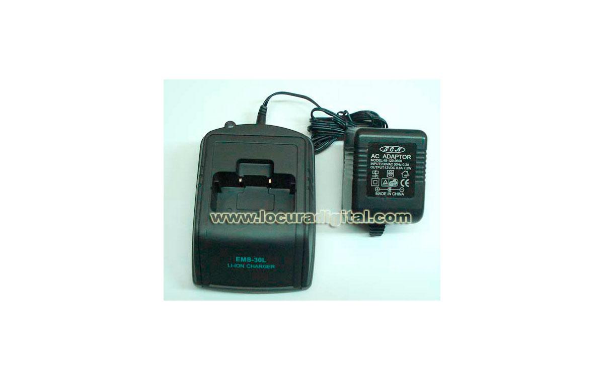 Yaesu ANC601/400 Cargador rápido de sobremesa para Bateria FNB-V800EEX