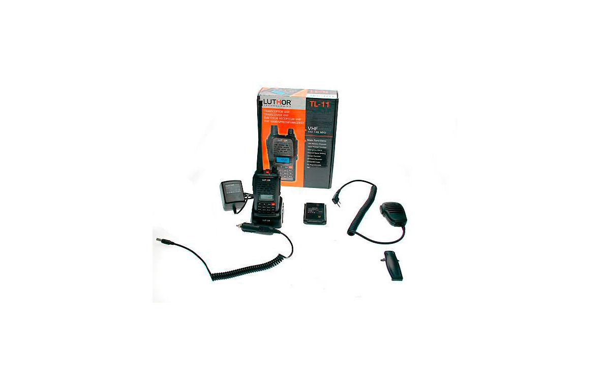 walkie talkies luthor tl11 kit2 mono banda vhf 144 mhz