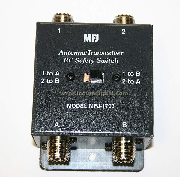 MFJ1703 MFJ conmutador MFJ  cruzado dos posiciones.