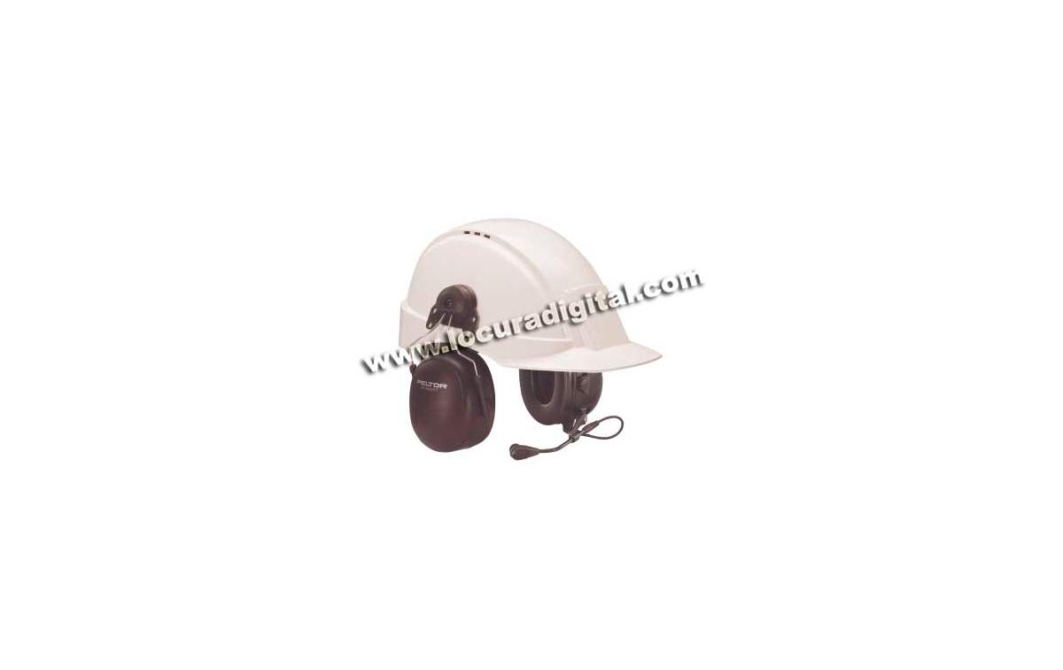 MT53H79P3E-21 Casco Peltor con Fijación de casco para Motorola GP-300
