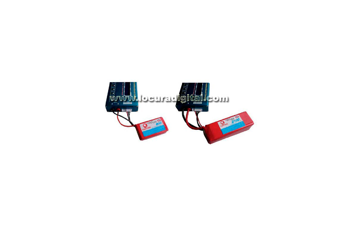 cargador baterias radiocontrol yt006s